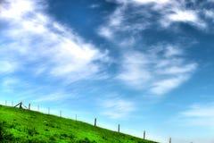 Der Himmel ist die Grenze Stockbild