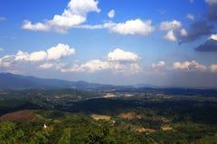 Der Himmel ist ein natürliches Stockfoto