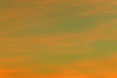 Der Himmel nach Sonnenuntergang Stockfoto
