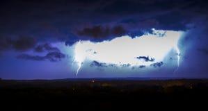 Der Himmel ` s Ärger schlägt unten Lizenzfreie Stockfotografie