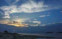 Der Himmel in Thailand Lizenzfreies Stockbild