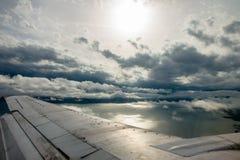 Der Himmel und das adriatische Meer Lizenzfreies Stockfoto