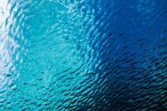 Der Himmel von unterhalb des Wassers Lizenzfreie Stockfotografie