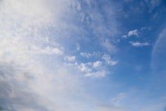 Der Himmelhintergrund Lizenzfreie Stockfotografie
