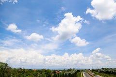 Der Himmelhintergrund Stockbild