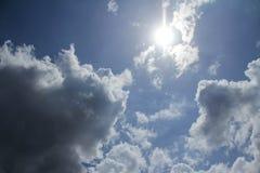 Der Himmelhintergrund Stockbilder