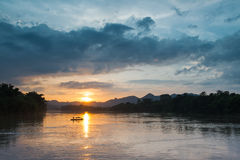 Der Himmelsonnenuntergang Lizenzfreie Stockbilder