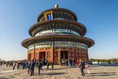 Der Himmelstempel - das Peking, China Stockfoto