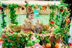 Der hindische Gott, Lord Krishna, stockfoto