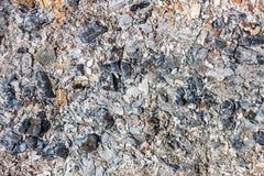 Der Hintergrund der Asche Kohle von gebranntem wood_ stockfotos