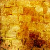 Der Hintergrund der alten Maurerarbeit mit Spuren vektor abbildung