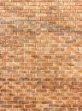 Der Hintergrund des gelben Ziegelsteines Lizenzfreies Stockbild