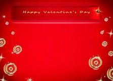 Der Hintergrund des Valentinsgrußes Stockbild
