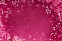Der Hintergrund des Valentinsgrußes Stockfotografie