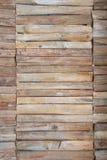 Der Hintergrund vom Brennholz Stockfoto