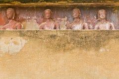 Der Hintergrund von Bildern von Buddha Lizenzfreie Stockfotos