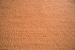 Der Hintergrund der Wand des roten Backsteins stockfotografie