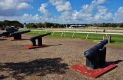 Der historische Bereich St. Ann Garrison in Barbados Stockfoto