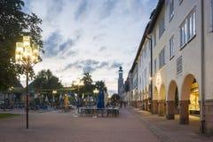 Der historische obere Markt in Freudenstadt Lizenzfreies Stockbild