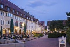 Der historische obere Markt in Freudenstadt Stockfotografie