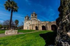 Der historische spanische Auftrag Concepción Lizenzfreies Stockfoto