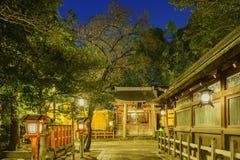 Der historische Yasaka-Schrein Lizenzfreie Stockfotos
