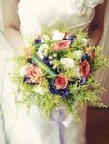 Der Hochzeitsblumenstrauß der Blumen Stockbild