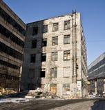 Alte verlassene Fabrik. Stockfotos