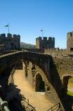 Der Hof und das Schloss Lizenzfreies Stockbild