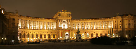 Der Hofburg Komplex Stockbilder