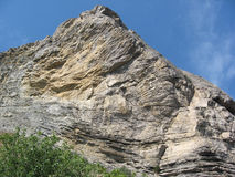 Der hohe Felsen Lizenzfreies Stockbild