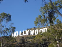 Der Hollywood-Schriftzug in Hollywood, Kalifornien, USA Stockbilder