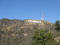 Der Hollywood-Schriftzug in Hollywood, Kalifornien, USA Stockbild