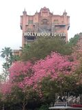 Der Hollywood-Turm Stockfotos