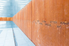 Der Holocaust-Denkmal-Raum Lizenzfreies Stockfoto