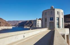 Der Hooverdamm, Kalifornien, USA Lizenzfreie Stockfotos