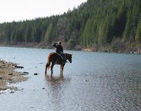 Der Horsewoman Lizenzfreie Stockfotos