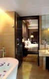 Der Hotel BADEKURORT-BADEKURORT Lizenzfreies Stockfoto