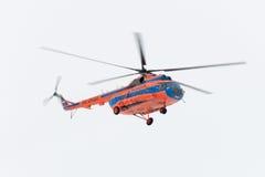 Der Hubschrauber stockbild