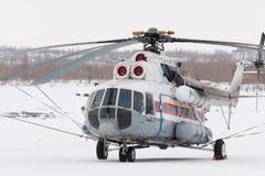 Der Hubschrauber lizenzfreies stockbild