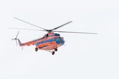Der Hubschrauber lizenzfreie stockfotografie