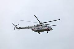 Der Hubschrauber der Präsident Of Russland Lizenzfreies Stockbild