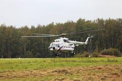 Der Hubschrauber der Präsident von Russland Stockbild