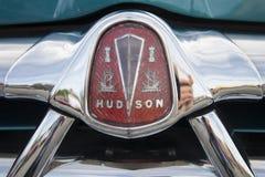 1951 der Hudson, Detail des Grills Lizenzfreies Stockfoto