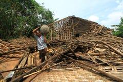 Der Hurrikan Lizenzfreie Stockbilder