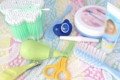 Der hygienischen Kinder bedeutet Lizenzfreies Stockbild