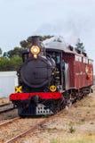 Der ikonenhafte Herzmuschelzug des Dampf-207 in Middleton South Australia am 24. April 2018 Lizenzfreie Stockfotografie