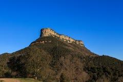 Der imponierende Berg des Weges durch EL weit Lizenzfreies Stockbild