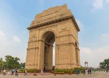 Der India Gate-Bogen, Neu-Delhi lizenzfreies stockbild