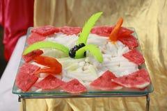 Der indische Heirat-Salat stockbilder
